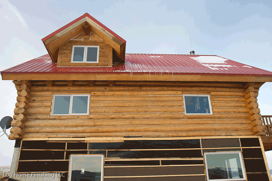Log home restoration log home care for Log cabin restoration